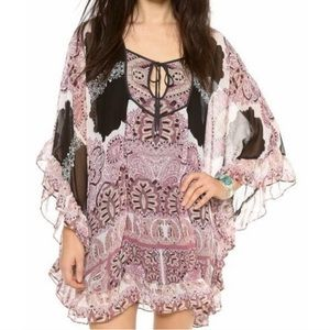 Free People•Marla Dreams Boho Tunic Mini Dress NWT